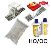 Proses BALKIT-11 Ballasting Kit HO w/Ballast Glue Applicator (Light Grey)