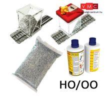 Proses BALKIT-12 Ballasting Kit HO w/Ballast Glue Applicator (Grey Blend)