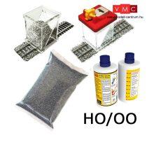 Proses BALKIT-13 Ballasting Kit HO w/Ballast Glue Applicator (Dark Grey)
