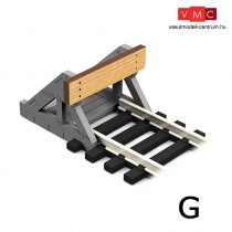 Proses BF-G-02 G Scale Buffer Stop w/Real Wooden Plate (2 pcs)