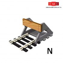 Proses BF-N-01 2 X N Scale Buffer Stop w/Wooden Bumper