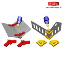 Proses PR-SS-05 Snap & Fix Set w/Adj. Angle Arms + 90 Degree Clamps (Magnetic)