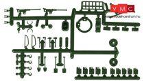 Roco 0277 Katonai kiegészítők gumikerekes és lánctalpas járművekhez