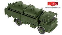 Roco 5034 Magirus-Deutz 168 M 11 FL platós katonai teherautó üzemanyagtartályokkal (H0) - B