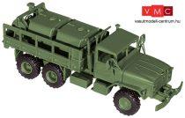 Roco 5042 M923 platós katonai teherautó üzemanyagszállító tartályokkal (H0) - US Army