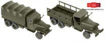 Roco 5044 GMC CCKW 353 6x6 katonai ponyvás teherautó (H0) - US Army