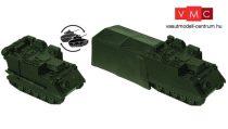 Roco 5064 M577 A1 G lánctalpas páncélozott parancsnoki jármű, harcálláspont sátorral (H