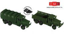 Roco 5123 M35 A2 (6x6) platós/ponyvás katonai teherautó - US Army (H0)