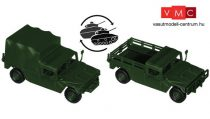 Roco 5145 M998 / M1038 Hummer katonai magasponyvás terepjáró - US Army (H0)