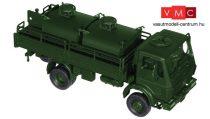 Roco 5165 Mercedes-Benz 1017 A (4x4) platós katonai teherautó, üzemanyagtartályokkal - Bund