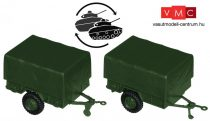 Roco 5180 M101 A1 / M105 A2 katonai ponyvás utánfutó - US Army