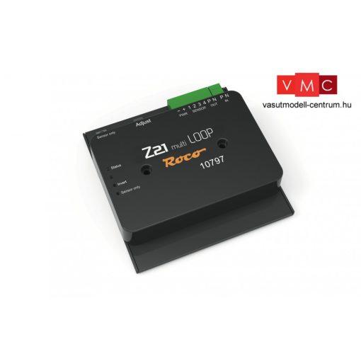 Roco 10797 Hurokvágányvezérlő modul digitális üzemre (DCC) - Railcom