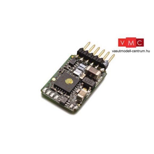 Roco 10885 Mozdonydekóder, közvetlen bedugós 6-tűs (NEM651), egyenes, visszajelentéssel