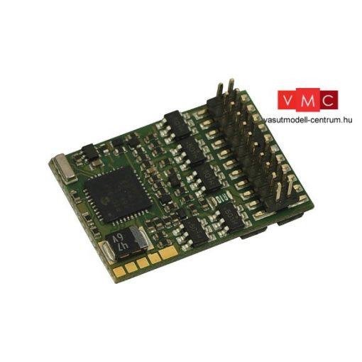 Roco 10896 Mozdonydekóder, PluX22, visszajelzésre képes, DCC (ZIMO MX633P22)