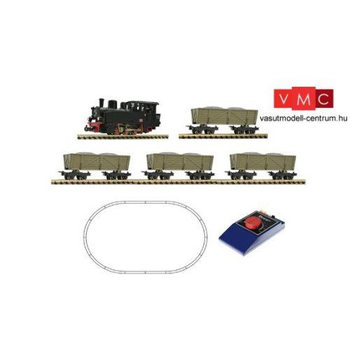 Roco 31029 Analóg kezdőkészlet: Gőzmozdony tehervonattal (H0e) (E2-4)