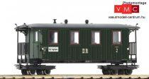 Roco 34061 Személykocsi, négytengelyes 2. osztály, DR, keskeny nyomköz (H0e) (E3)