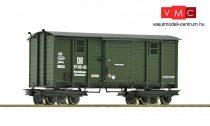 Roco 34062 Fedett négytengelyes műhelykocsi, DR, keskeny nyomköz (H0e) (E3-4)