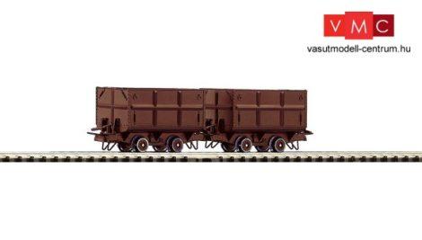 Roco 34499 Bányavasúti szénszállító csille-pár, barna színben