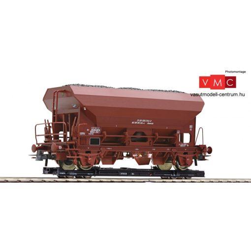 Roco 34574 Görgős rakfelületű teherkocsi (Rollwagen) (H0e), önürítős teherkocsival (E4)
