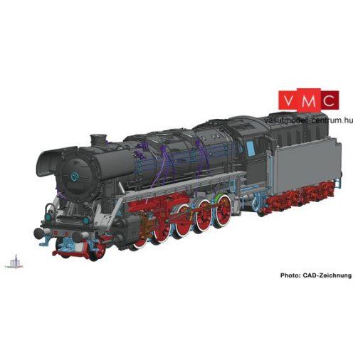 Roco 36083 Gőzmozdony BR 44 221, DR (E4) (TT) - Henning-Sound