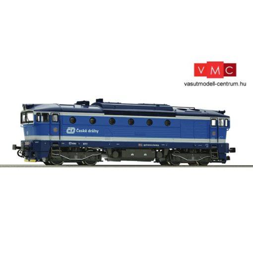 Roco 36400 Dízelmozdony Rh 754, CD (E6)