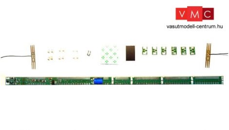 Roco 40420 Univerzális belső világítás (LED) négytengelyes személykocsikhoz, 170-316 mm