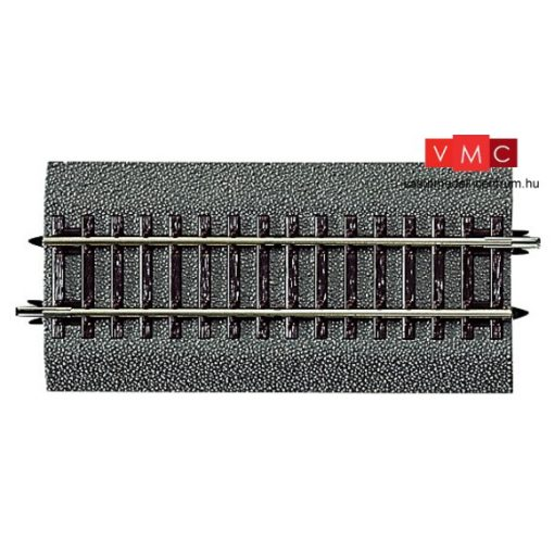 Roco 42512 Gumiágyazatos egyenes sín G1/2, 115 mm, Roco LINE
