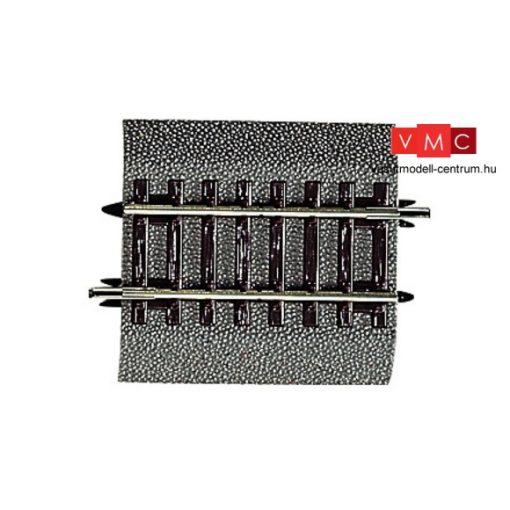 Roco 42513 Gumiágyazatos egyenes sín G1/4, 57,5mm, Roco LINE