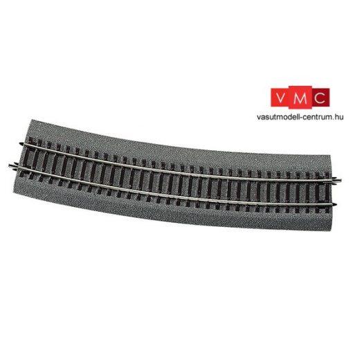 Roco 42528 Gumiágyazatos íves sín, R10 873,5 mm, váltókiegyenlítő ív (15°) Roco LINE