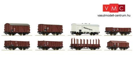 Roco 44003 Teherkocsi készlet (8 db), DRG (E2)