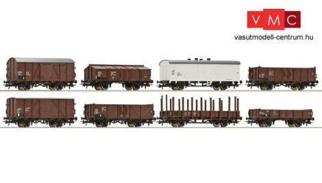 Roco 44006 Teherkocsi készlet (8 db), ÖBB (E4)
