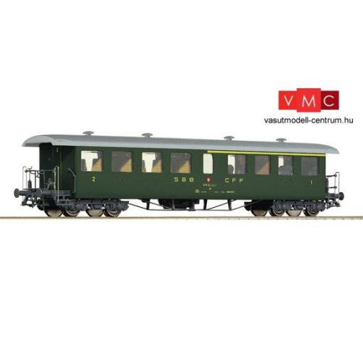 Roco 44730 Személykocsi, négytengelyes Seetalbahn 1./2. osztály, SBB