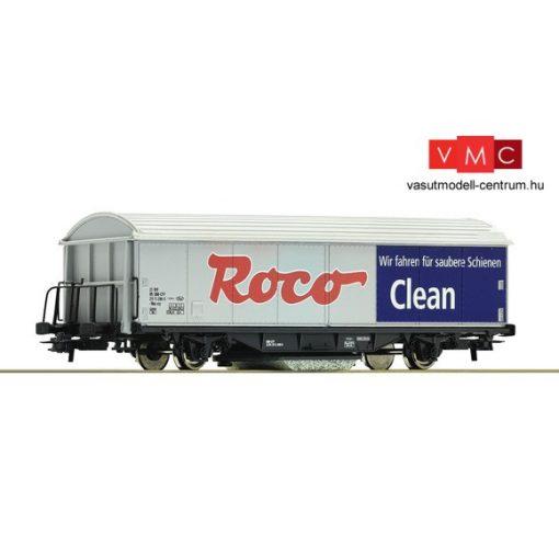 Roco 46400 ROCO-CLEAN síntisztító teherkocsi (H0)