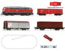 Roco 51312 Digitális kezdőkészlet: BR 218 dízelmozdony tehervonattal, DB-AG, z21Start + mul