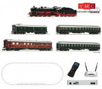 Roco 51313 Digitális kezdőkészlet: BR 18.6 gőzmozdony gyorsvonattal, DB, z21Start + RC mult