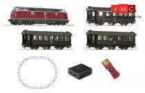 Roco 51316 Digitális kezdőkészlet: BR 221 dízelmozdony személyvonattal, DB, multiMAUS (E4)
