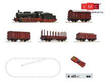 Roco 51318 Digitális kezdőkészlet: Gőzmozdony BR 057 + tehervonat, DB (z21 Start központ +
