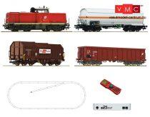 Roco 51322 Digitális kezdőkészlet: Dízelmozdony Rh 2048 + tehervonat, ÖBB (z21 Start közp