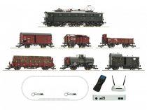 Roco 51323 Digitális kezdőkészlet: E 52 villanymozdony tehervonattal, DRG, z21Start + wlanMA
