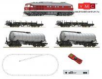 ROCO 51328 Digitális kezdőkészlet: Dízelmozdony, BR 142 + tehervonat (z21 Start központ+Mu
