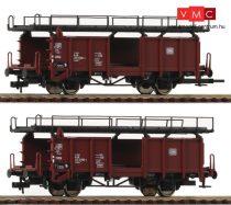 Roco 522401 Autószállító teherkocsi-pár, Laaes 541, DB (E4) (H0)
