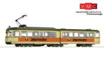 Roco 52580 Villamos, 6 tengelyes, bézs, Jägermeister reklámfelirattal (E3-4)