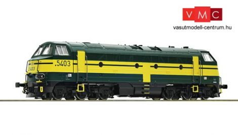 Roco 52624 Dízelmozdony Reeks 53, SNCB (E4) - Sound
