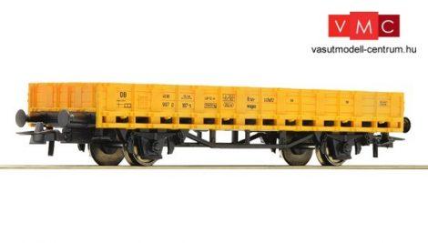 Roco 56322 Alacsony oldalfalú pályafenntartási teherkocsi, DB-AG (E5)