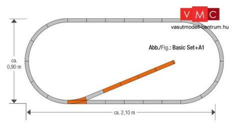 Roco 61150 GeoLine sínkészlet A1 (H0)