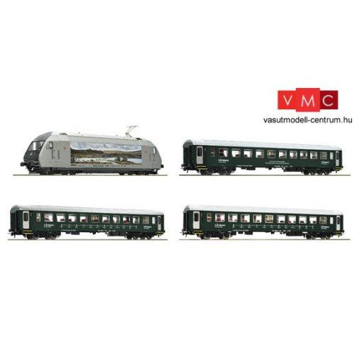Roco 61451 Személyvonat-készlet El18 villanymozdonnyal, NSB (E6)