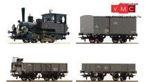 Roco 61457 Gőzmozdony 85 sorozat, tehervonattal, Kaiserzeit, KKStB (E1)