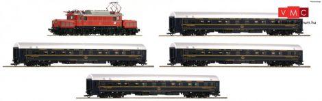 Roco 61468 Személyvonat-készlet: Villanymozdony Rh 1020, 4 db CIWL hálókocsival, ÖBB (E4)