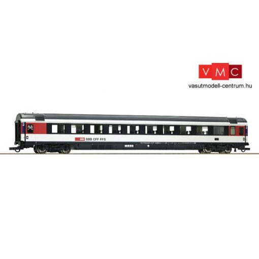 Roco 64400 Személykocsi, négytengelyes EC 2.osztály, fekete/fehér, SBB (E6)