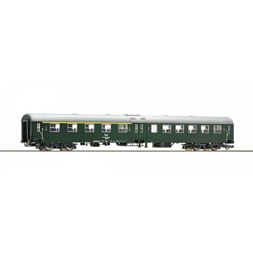 Roco 64667 Személykocsi, négytengelyes középajtós 1./2. osztály, zöld, ÖBB (E4)